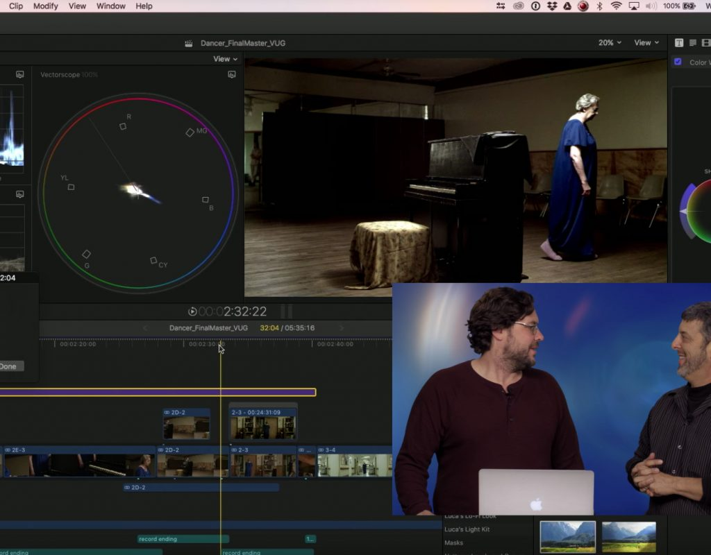 Auditioning Scene Looks in Final Cut Pro X 1