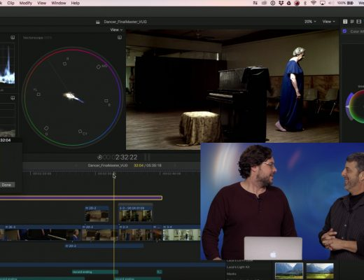 Auditioning Scene Looks in Final Cut Pro X 11