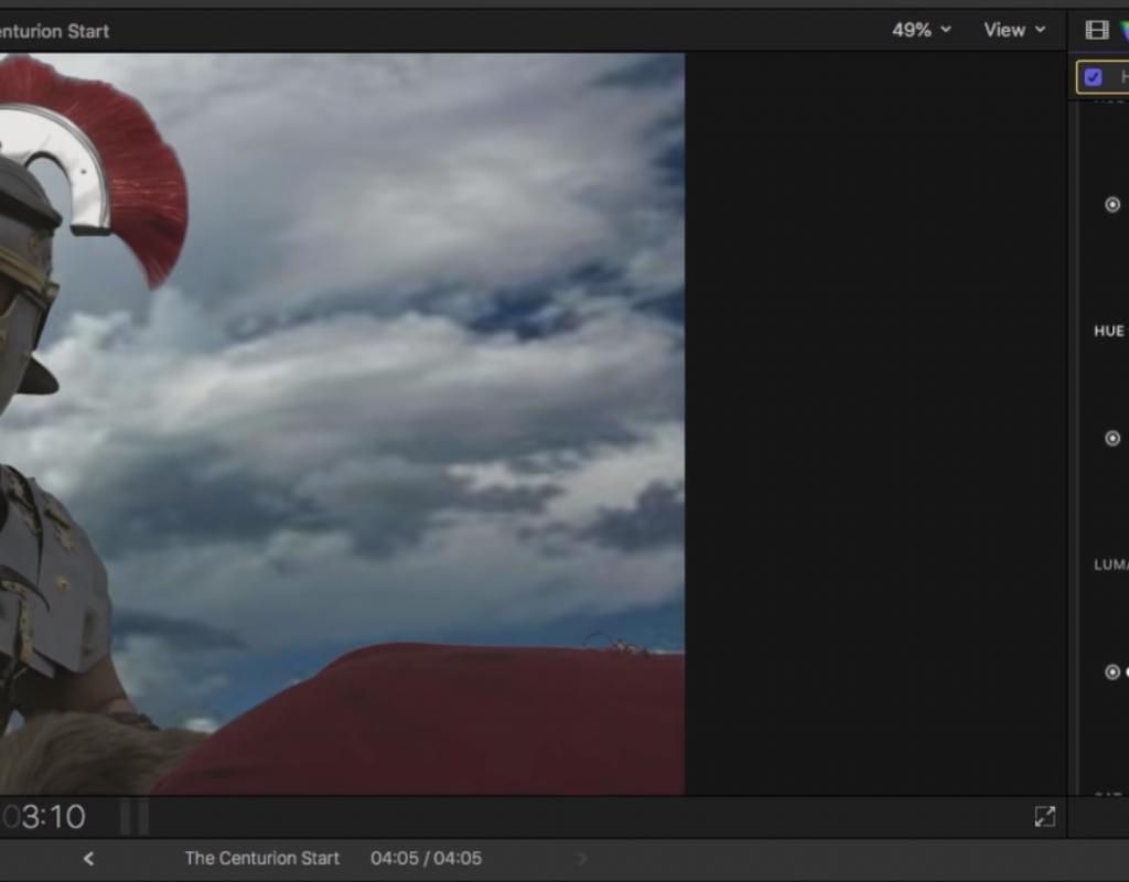 Replacing a Sky in Final Cut Pro X 1