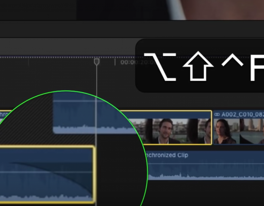 """Mouseless"" Dynamic Trimming in Final Cut Pro X 1"