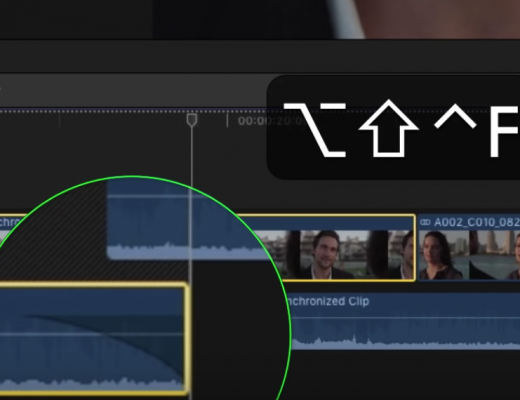 """Mouseless"" Dynamic Trimming in Final Cut Pro X 10"