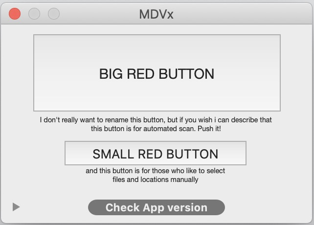 MDV interface
