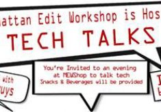 """Videoguys.com and G-Technology Announce a """"TECH TALK"""" on Storage at Manhattan Edit Workshop"""