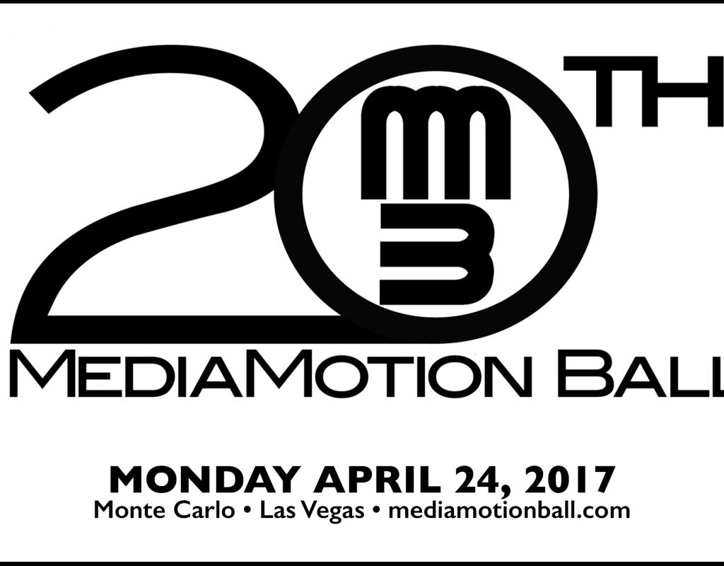 The 20th Anniversary MediaMotion Ball is a go for March 6, 2017 5