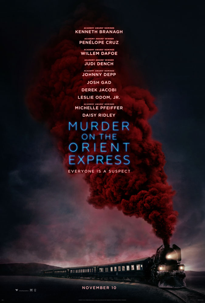 ART OF THE CUT on MURDER ON THE ORIENT EXPRESS 21