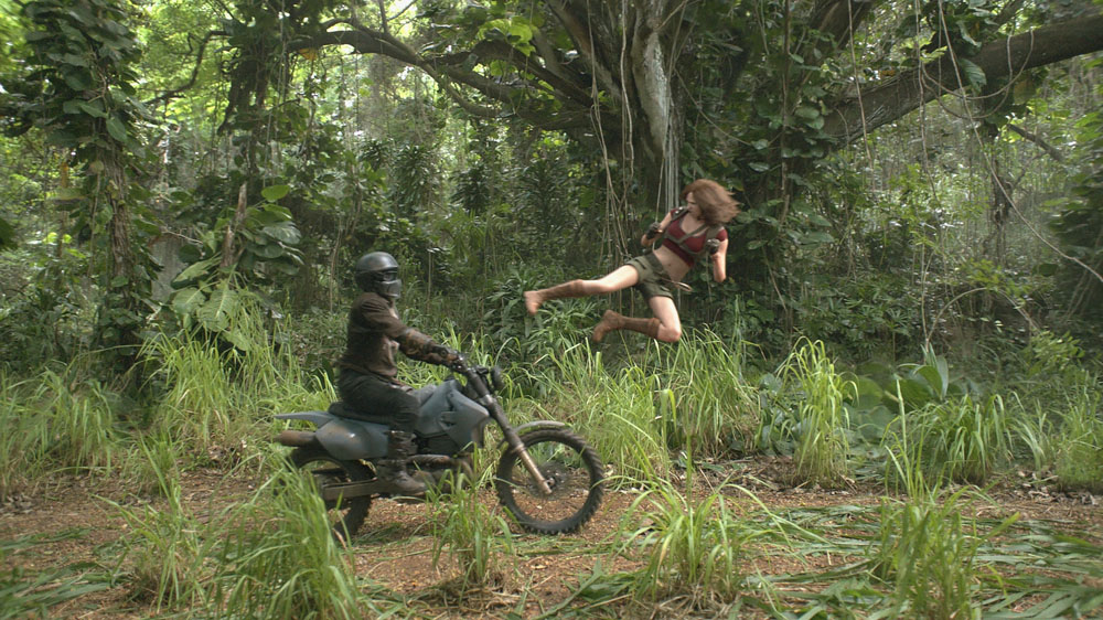 ART OF THE CUT on editing JUMANJI: Welcome to the Jungle 17
