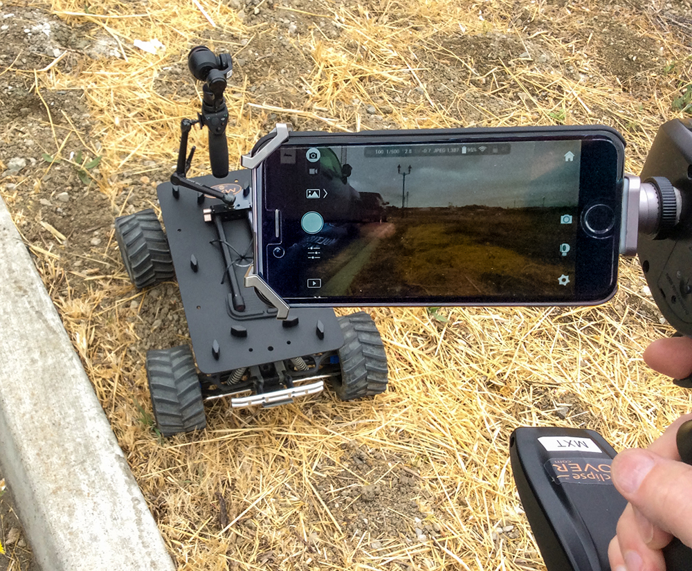 Small Cine-Rovers for video production: Part 2 - Eclipse Rovers 7
