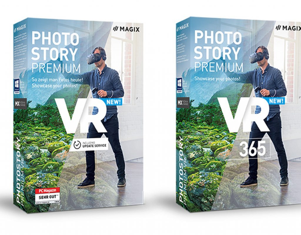MAGIX Photostory Premium VR: Virtual Reality made simple