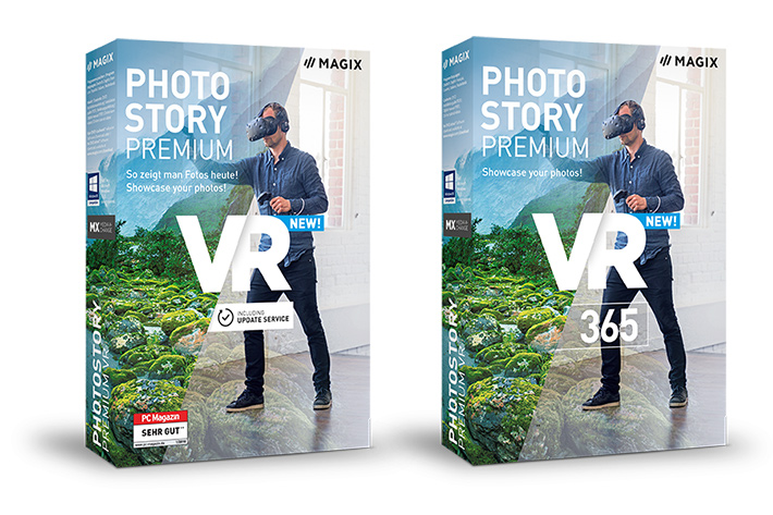 MAGIX Photostory Premium VR: Virtual Reality made simple by