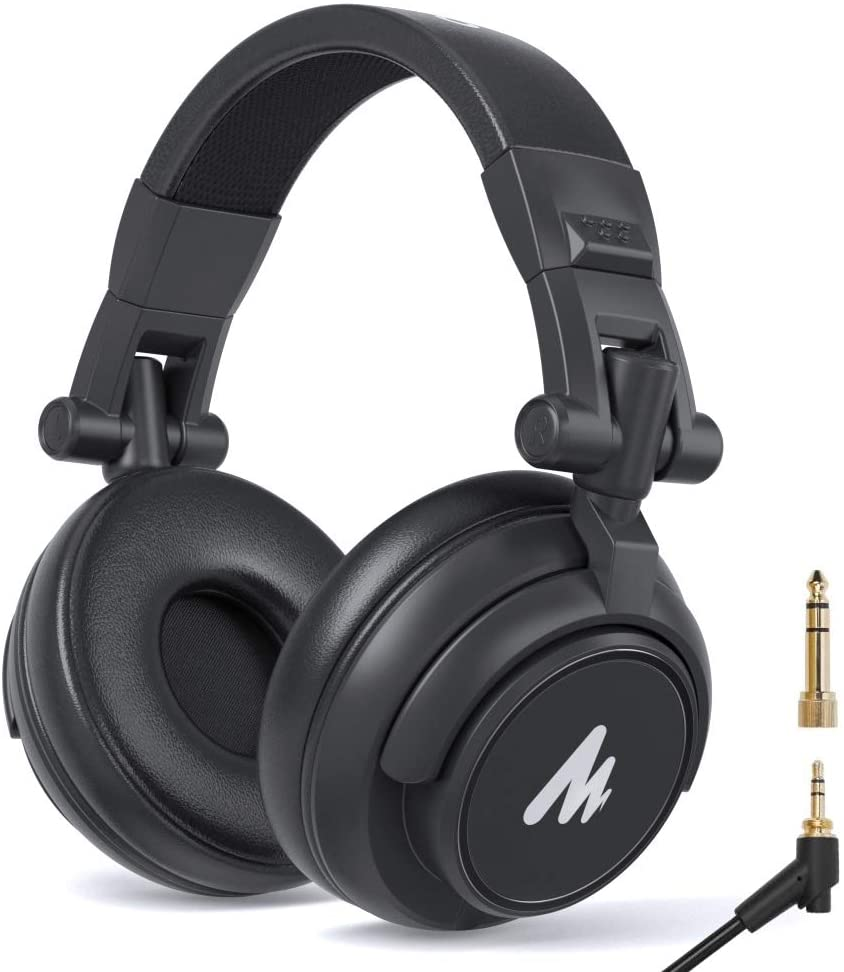 Review: Maono AU-MH601 brandable isolating studio headphone with removable cable 12