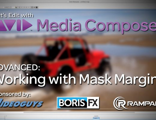 Let's Edit with Media Composer - Working with Mask Margins 22