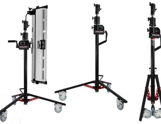 MSE Panel Stand: a crank stand for video and photography