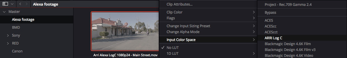 Solutions to Resolve 5: Taming Color Management – Part 1 7
