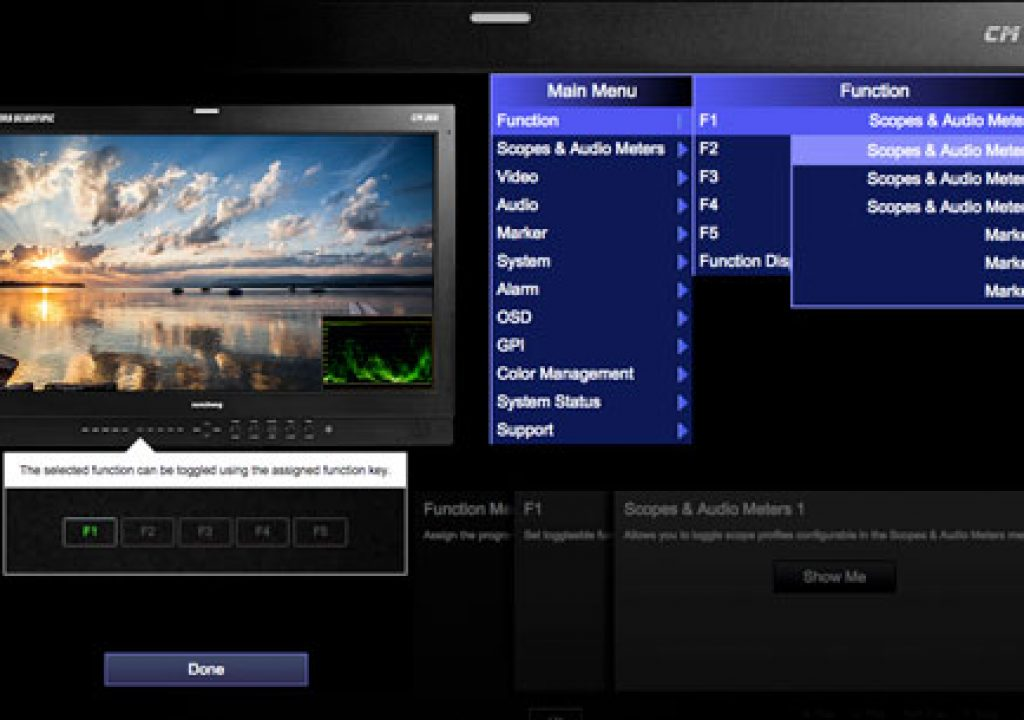New Interactive Monitor Menu Simulator Now Online 1
