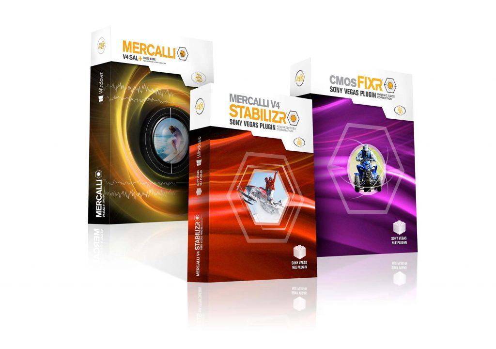 Mercalli® V4 Suite from proDAD is now available for Sony Vegas Pro 1