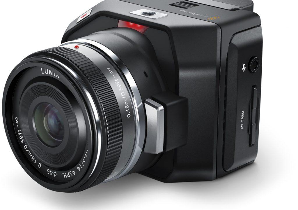 Blackmagic Releases The Micro Cinema Camera 1