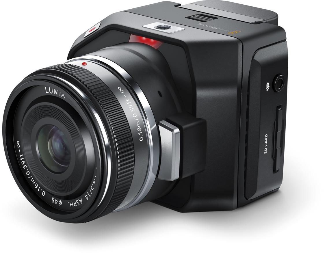 Blackmagic Releases The Micro Cinema Camera 4