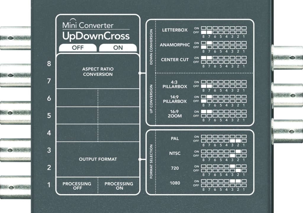 Blackmagic's UpDownCross Mini Converter Now $295 1