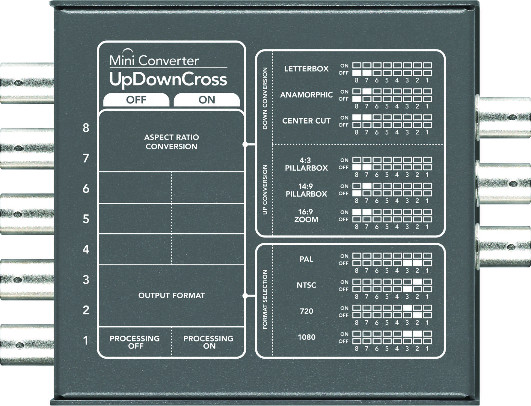 Blackmagic's UpDownCross Mini Converter Now $295 2