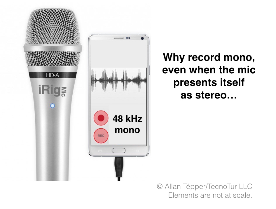 Advantages to recording mono, even for a stereo show 47