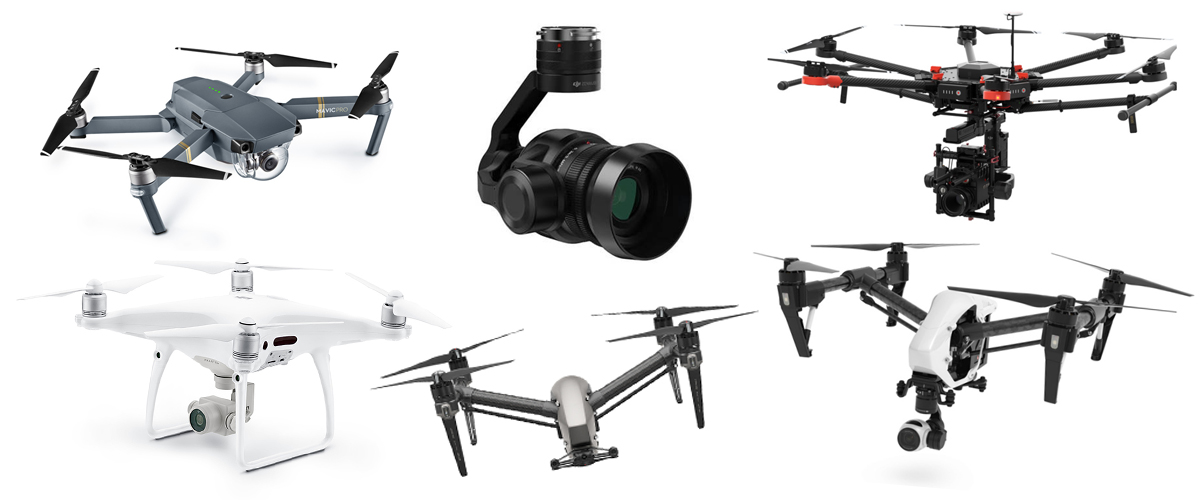 No-Bull Camera Drone Buyer's Guide for 2017