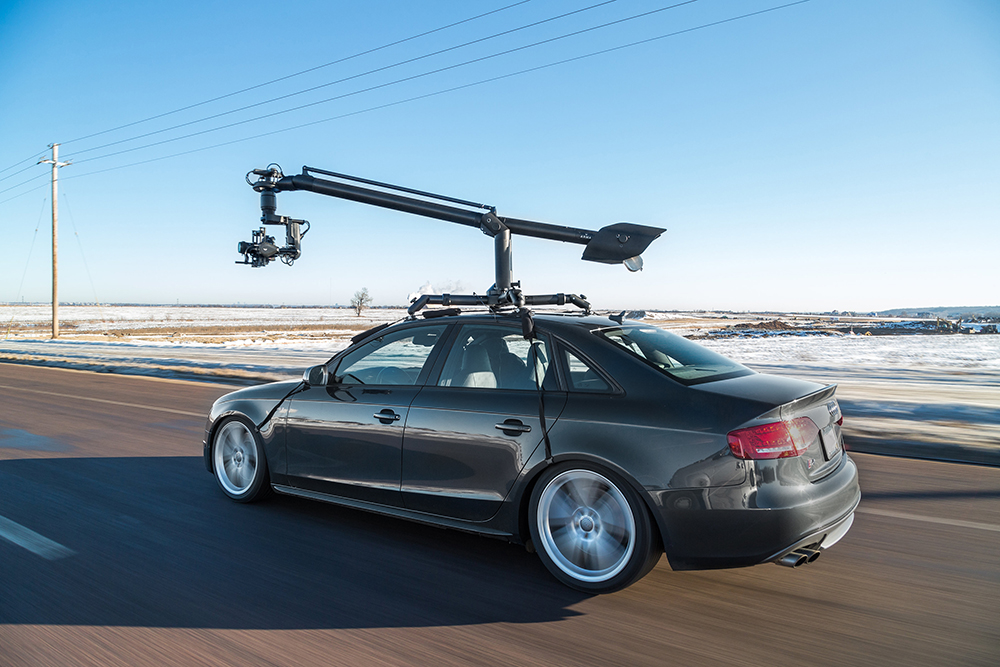 Turn Any Car into a Camera Car with MotoCrane 23