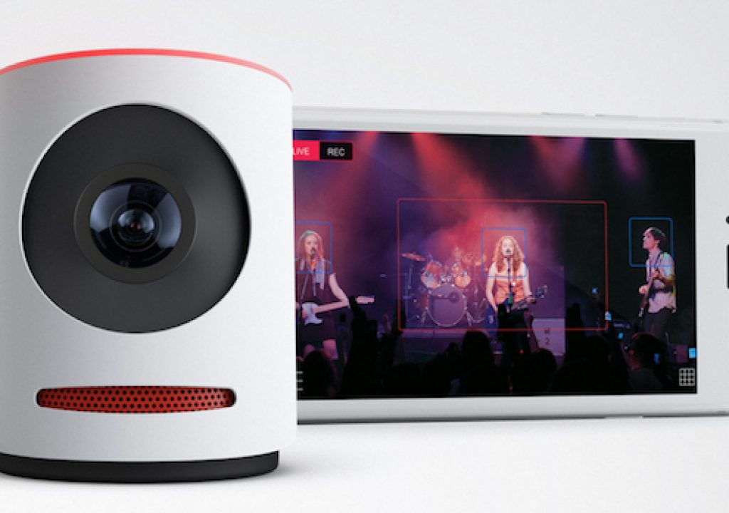 Movi, the 4K streamcorder that simulates nine 720p cams while switching live 3