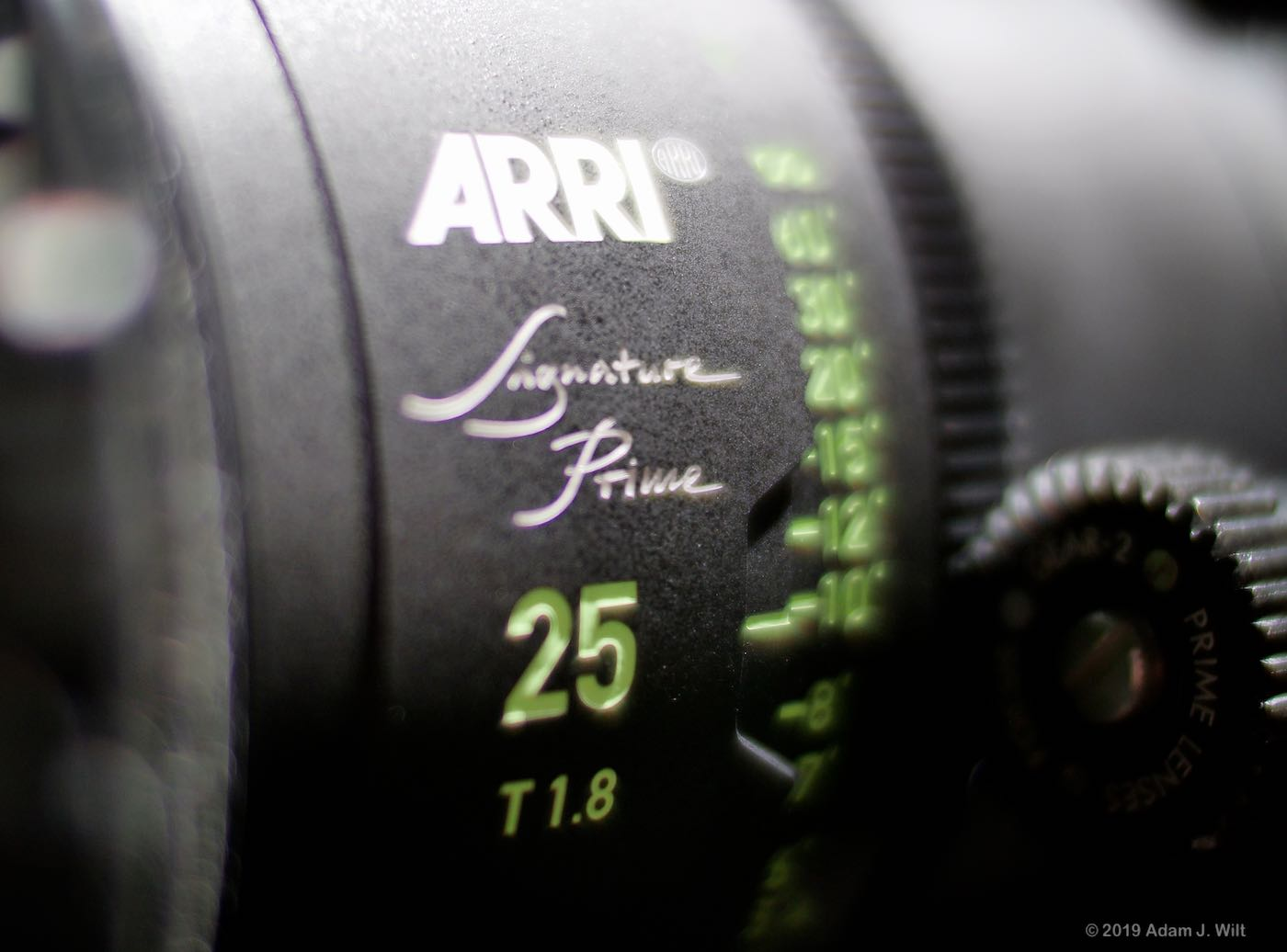 ARRI Signature primes are T1.8 large-format lenses