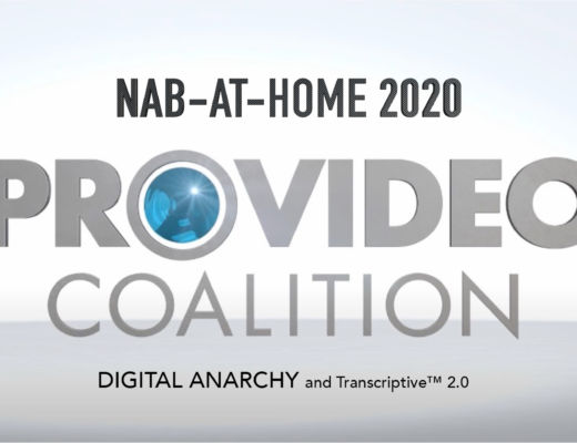 NAB-AT-HOME 2020: Transcriptive 2.0 from Digital Anarchy and a big price cut 5