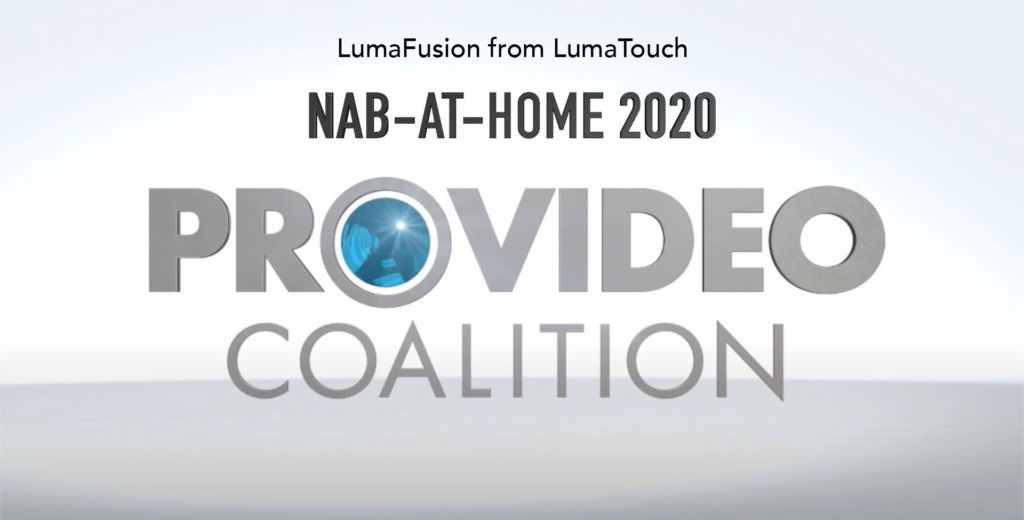 NAB-AT-HOME 2020: LumaFusion video editing in iOS 1