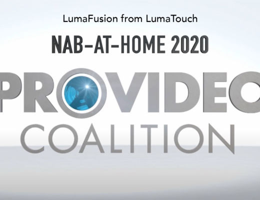 NAB-AT-HOME 2020: LumaFusion video editing in iOS 20