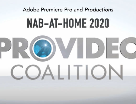 Adobe Premiere Pro Productions NAB-AT-HOME