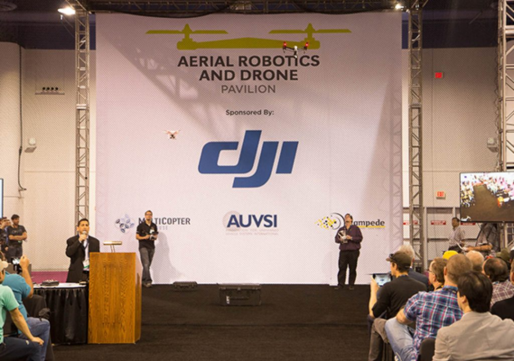 NAB 2015 Aerial Videography Workshops and Drone Pavilion Wrapup 1
