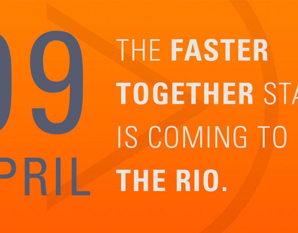 The Faster Together Stage Comes to the Rio 1