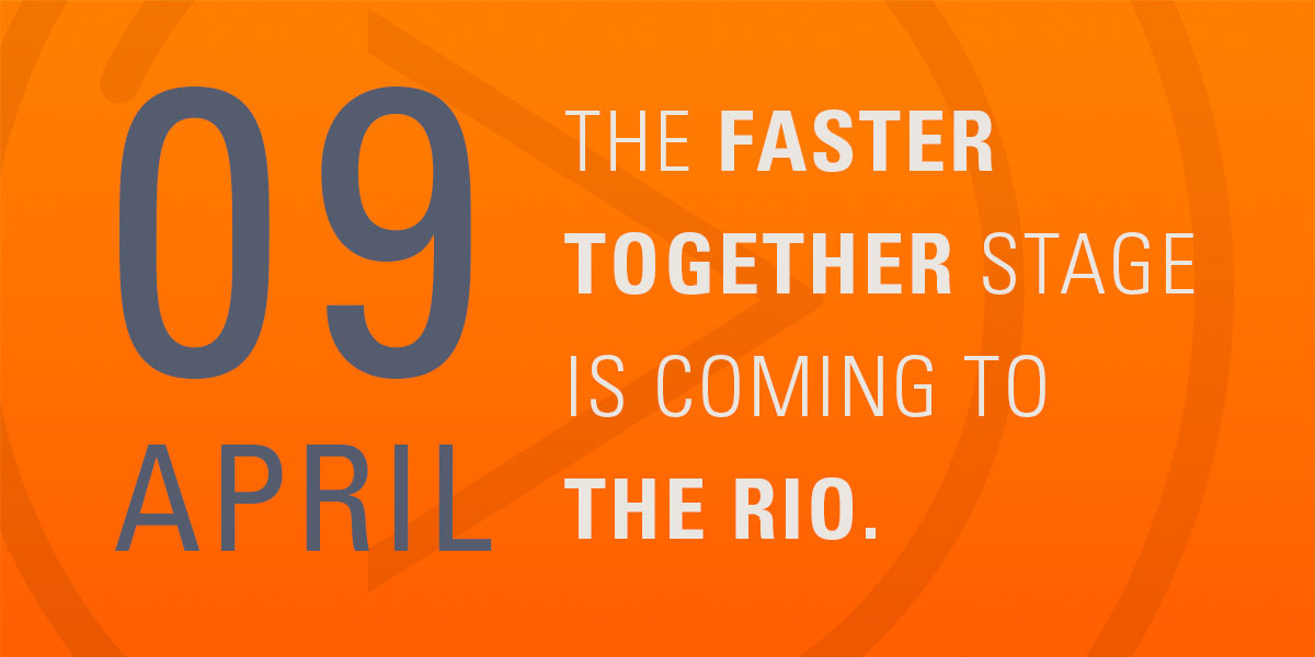 The Faster Together Stage Comes to the Rio 2