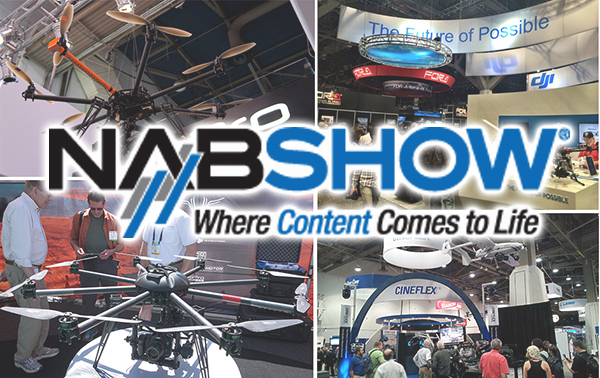 Drone Invasion at NAB Show 2015 7