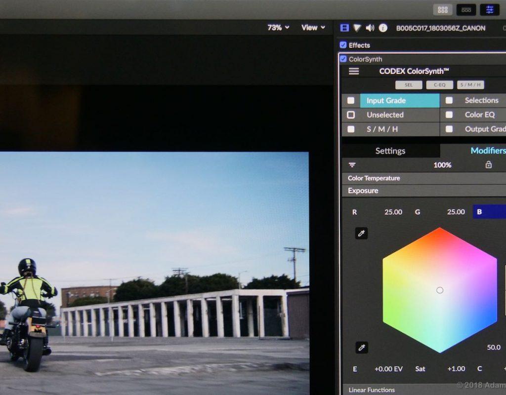 Codex ColorSynth UI