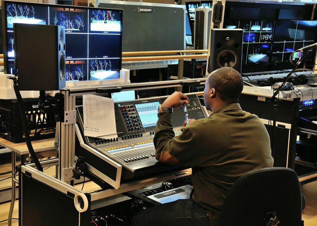 NJPAC broadcast operations