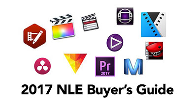 The Editblog's 2017 NLE Buyer's Guide 1