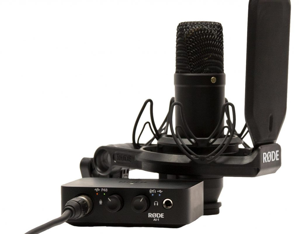 Review: RØDE NT1 studio microphone, shockmount and pop filter 13