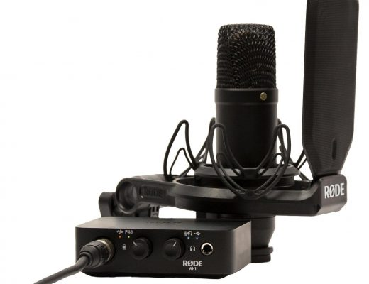 Review: RØDE NT1 studio microphone, shockmount and pop filter 58