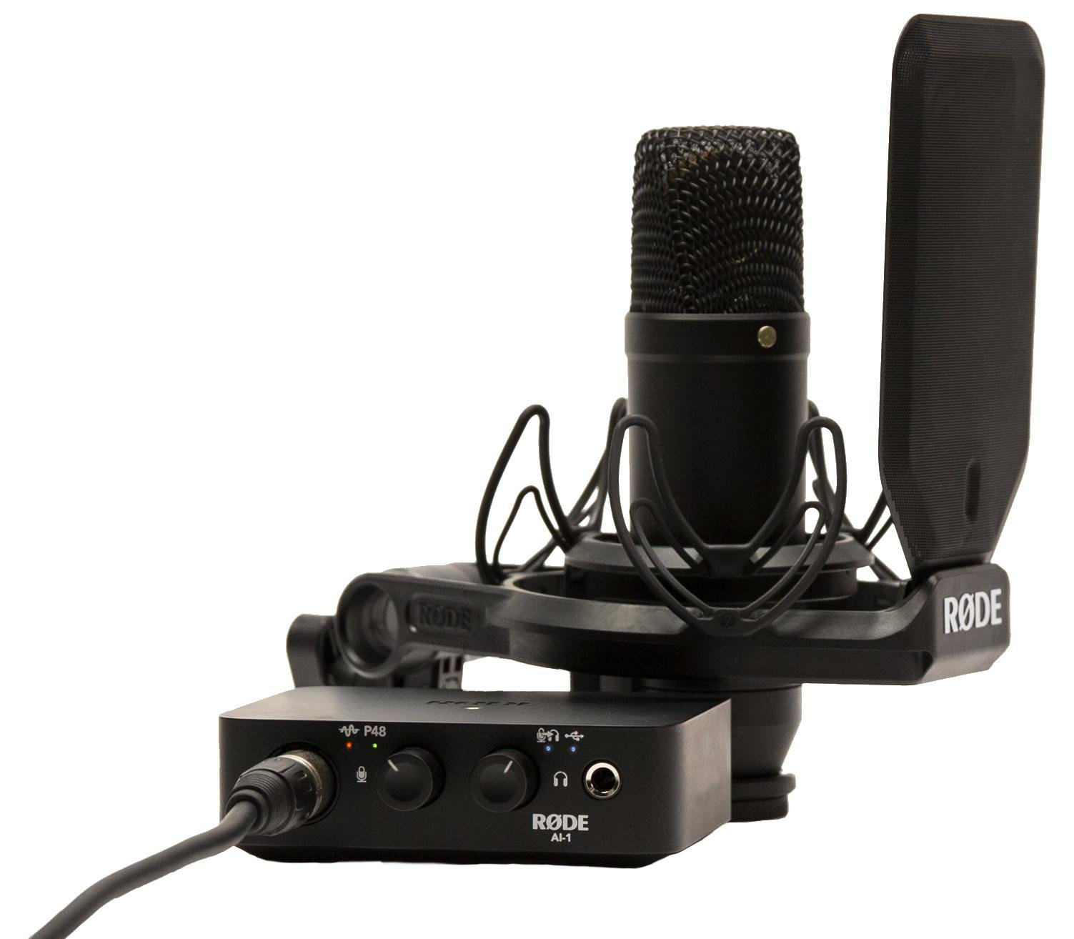 Review: RØDE NT1 studio microphone, shockmount and pop filter 14