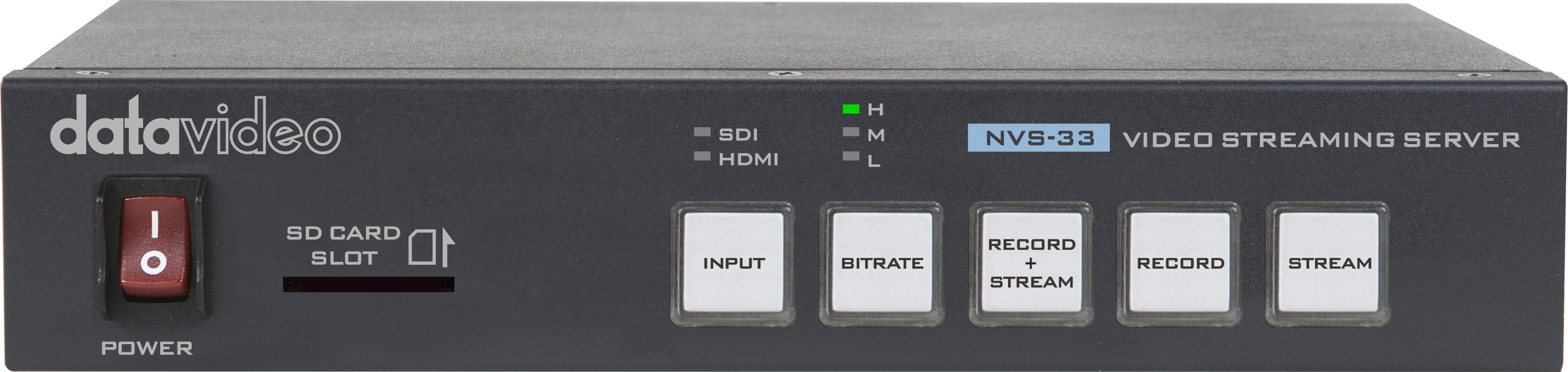 Datavideo announced NVS-33 H.264 streaming encoder/recorder 6