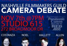 Nashville Filmmakers Guild's Camera Debate
