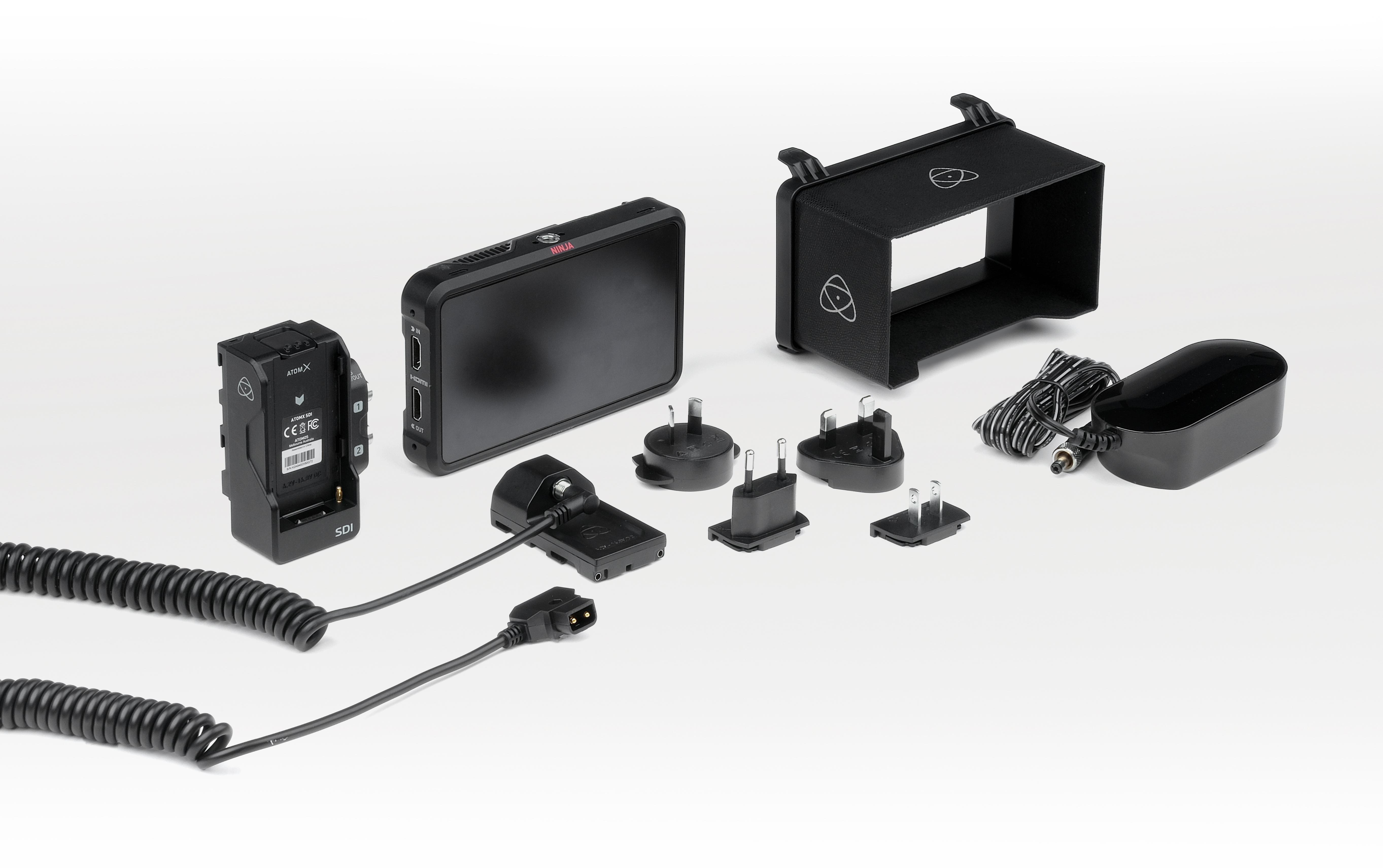 Átomos launches Ninja V Pro Kit: RAW over SDI from the Ninja V and more 7