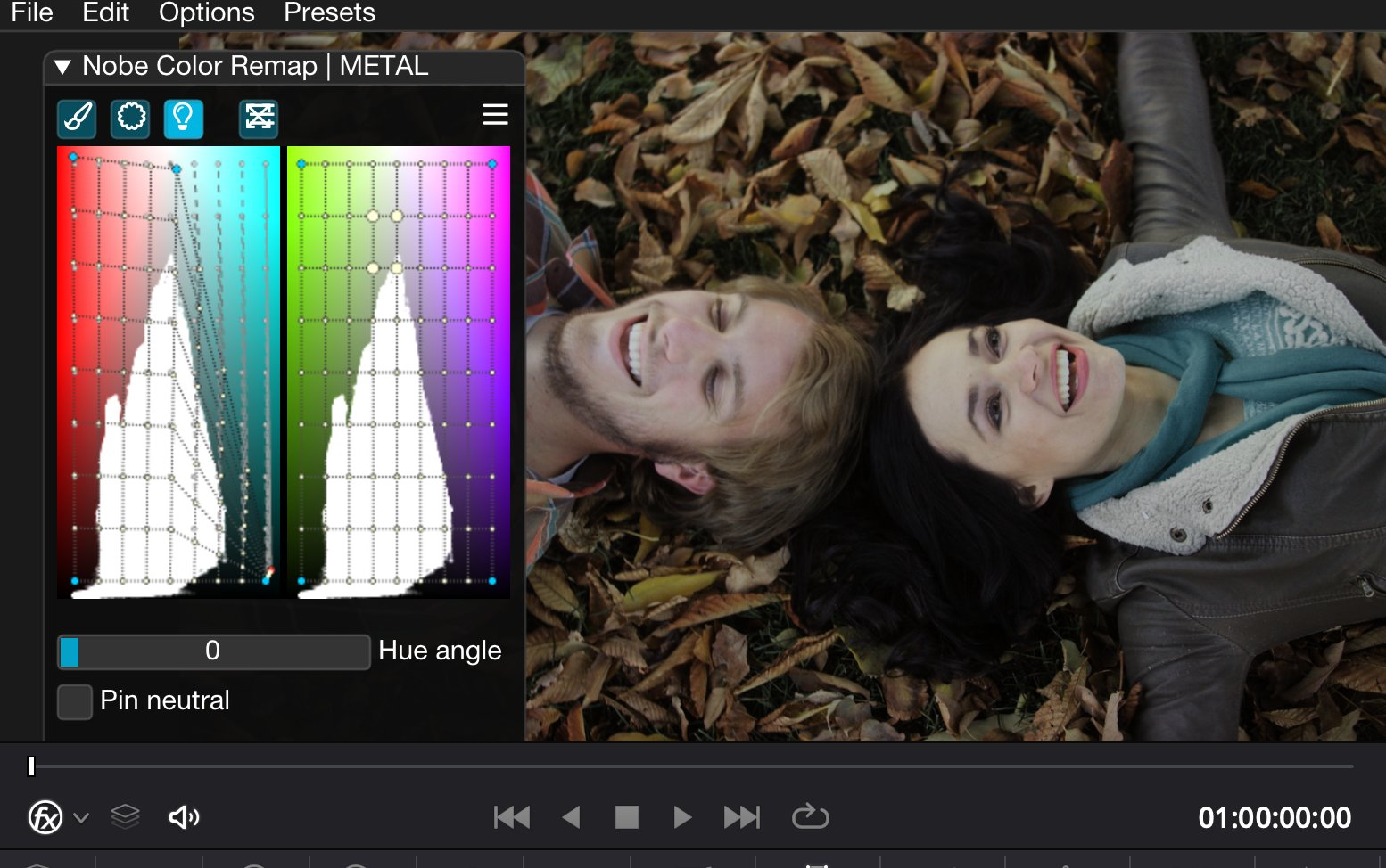 Nobe Color Remap for all your post-production tools. The original Color Warper 5