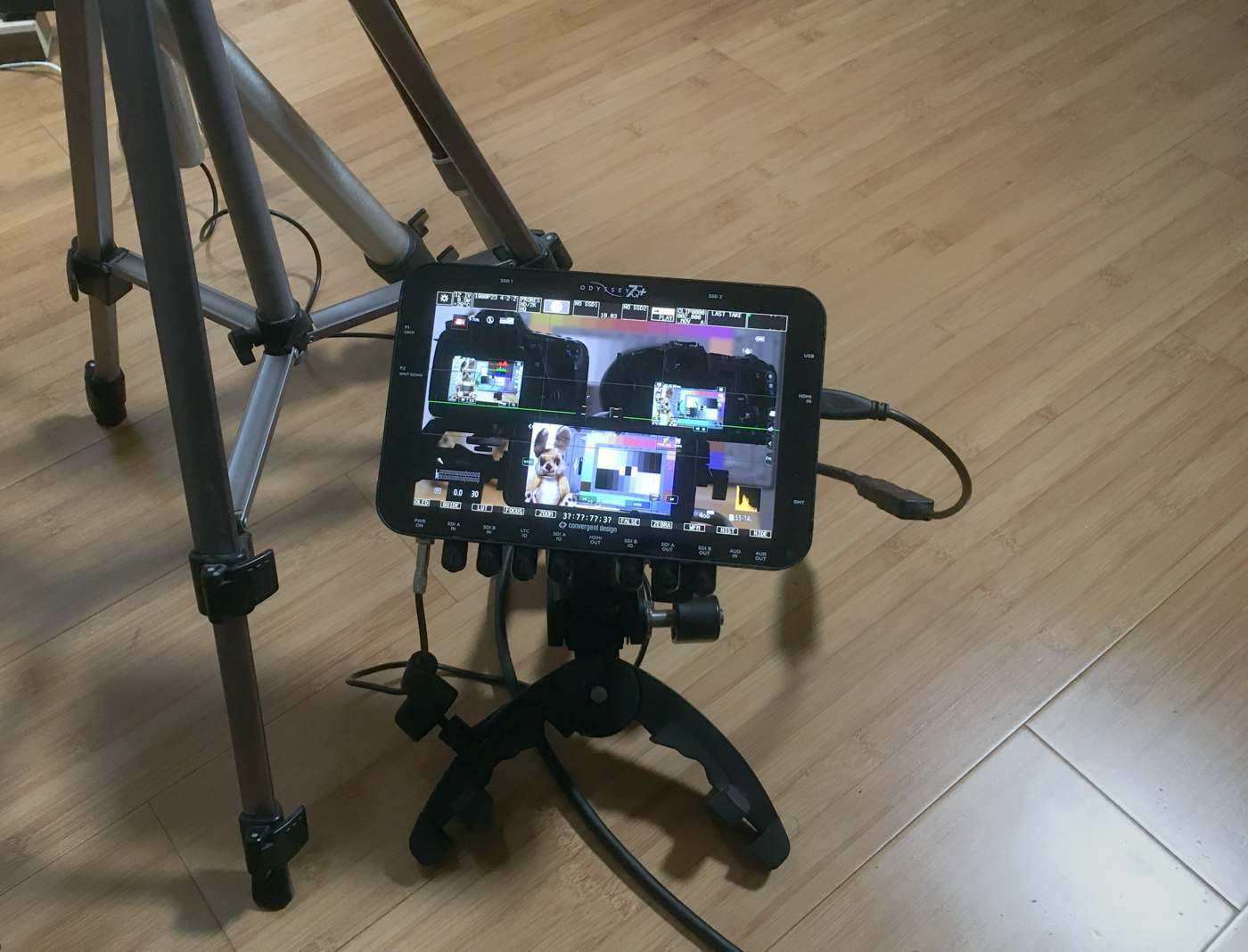 Odyssey 7Q+ in use on 11 August 2020