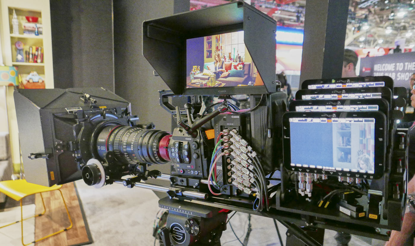 Canon 8K camera with 4 Odysseys