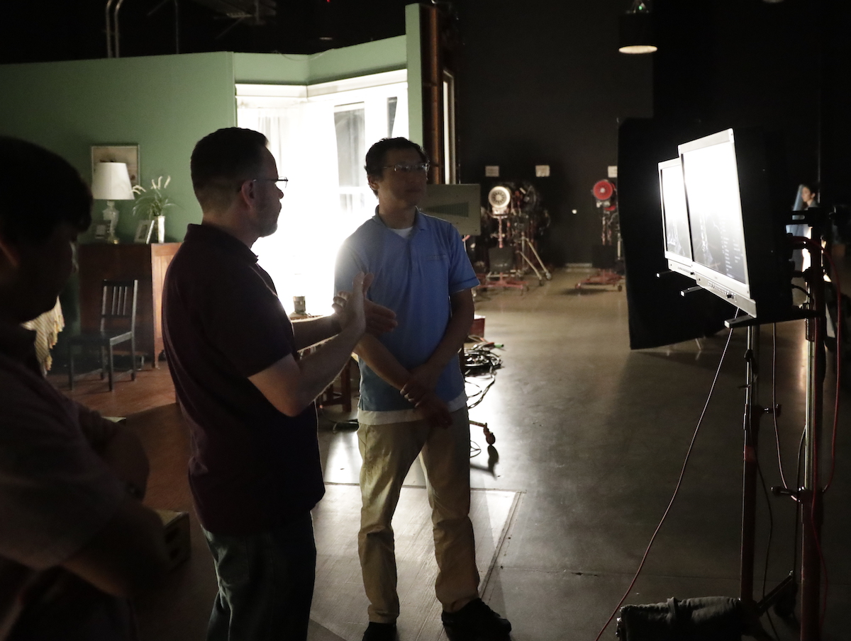 """A Guide to Shooting HDR TV: Day 2, """"On Set with HDR"""" 2"""