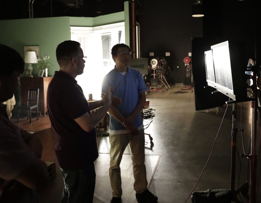 """A Guide to Shooting HDR TV: Day 2, """"On Set with HDR"""" 1"""